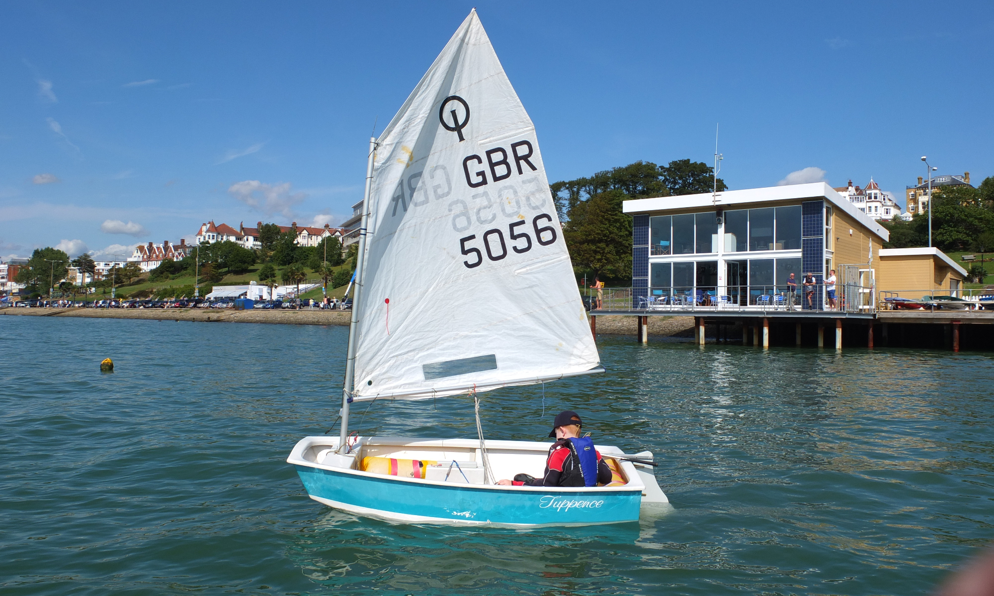 About Sea Cadets, Cadets sailing