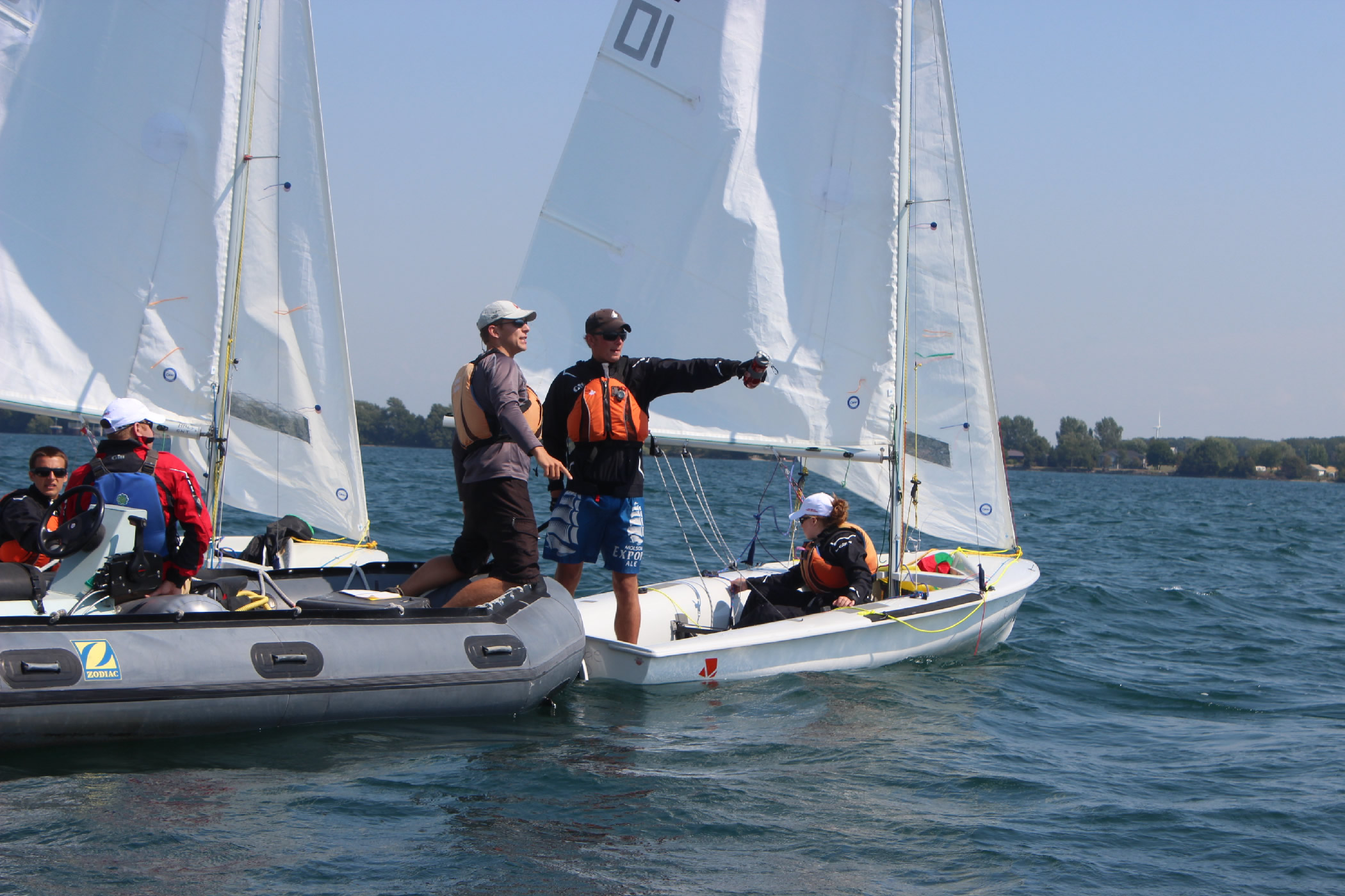 Routine Orders, cadets at sailing regatta