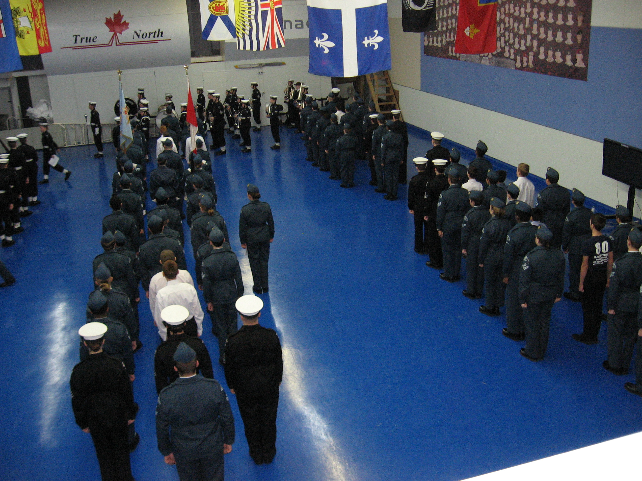 Combined CDs with 94 RCSCC, 80 RCACC and members of the band from 89 RCSCC